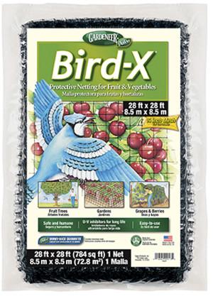 Dalen Gardeneer Bird-X Protective Netting Black 6ea/28Ftx28 ft