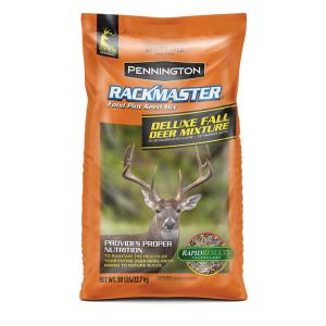 Pennington Rackmaster Deluxe Fall Deer Mixture Food Plot Seed Mix 1ea/50 lb