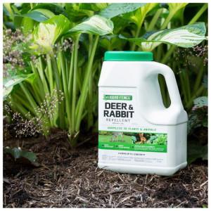 Liquid Fence Deer & Rabbit Repellent Granular 4ea/5 lb