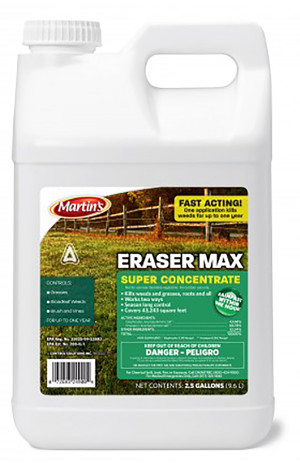 Control Solutions Eraser Max Weed Killer Concentrate 2ea/2.5 gal
