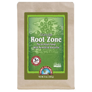 Down To Earth Root Zone Granular Mycorrhizal Fungi OMRI 12ea/8 oz
