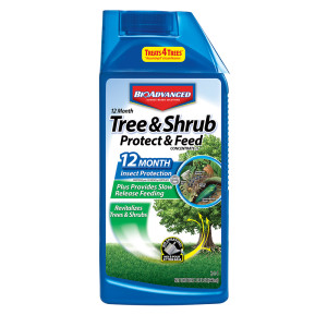 BioAdvanced 12 Month Tree & Shrub Protect Feed Concentrate 2-1-1 48ea/32 oz