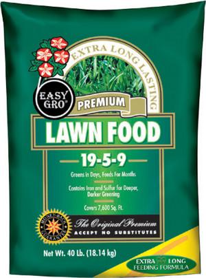 Easy Gro Premium Lawn Fertilizer 19-5-9 2ea/40 lb