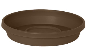 Bloem Terra Saucer Chocolate 20ea/10 in