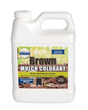 Sanco Mulch Worx Brown 6ea/32 oz
