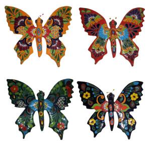 Talavera Butterfly Hanger Sets #1