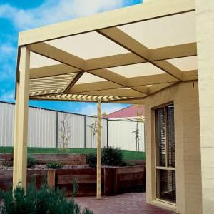 Coolaroo Heavy Shade Fabric 84-90% Cover UV Block Wheat 12ea/6Ftx15 ft