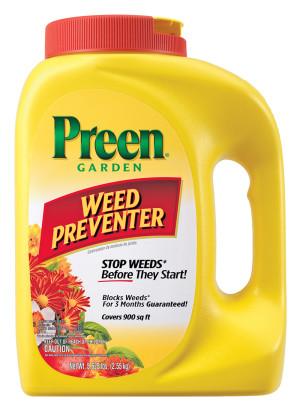Preen Garden Weed Preventer 4ea/5.625 lb
