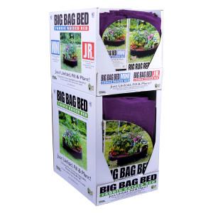 Smart Pot Fabric Raised Bed Big Bag Mini Jr Purple Quarter Pallet 1ea