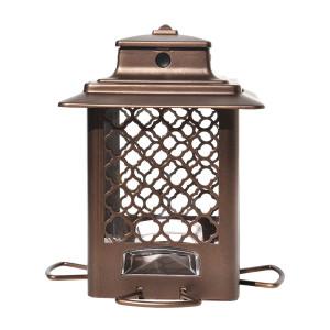 Classic Brands Stokes Select® Surefill Metal Hopper Bird Feeder Brown 4ea/3.3 lb