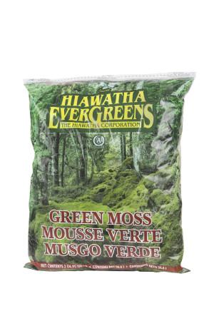 Hiawatha Evergreens Decorator Moss in Resealable Bags Green 8ea/2Cuft