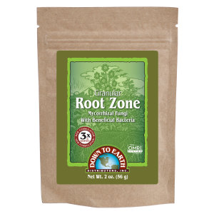 Down To Earth Root Zone Granular Mycorrhizal Fungi OMRI 24ea/2 oz