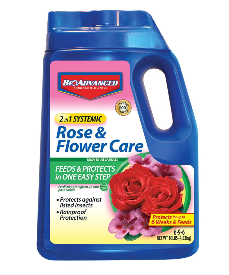BioAdvanced 2-in-1 Rose & Flower Care Granules 6-9-6 Acephate 4ea/10 lb