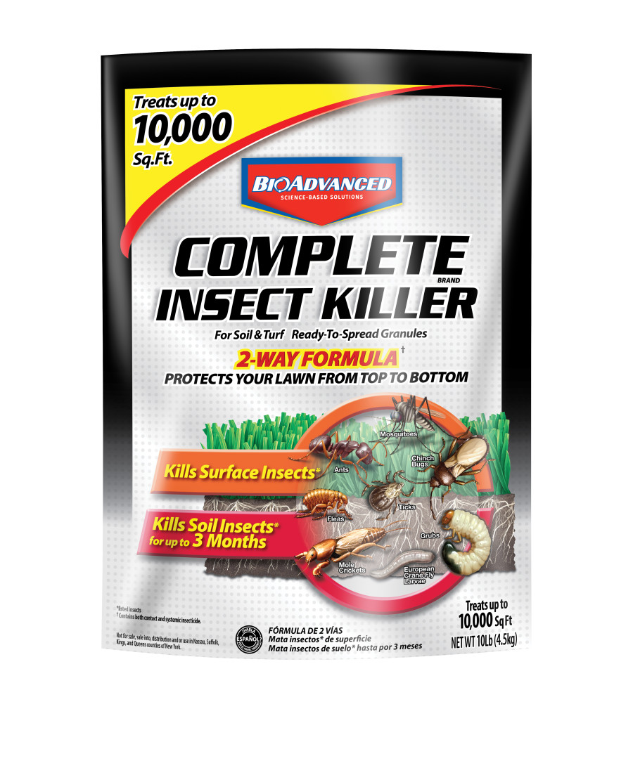 BioAdvanced Complete Insect Killer for Soil & Turf Granules 1ea/10 lb