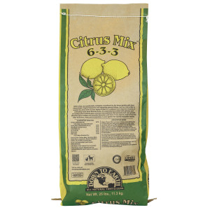 Down To Earth Citrus Mix Natural Fertilizer 6-3-3 OMRI 1ea/25 lb