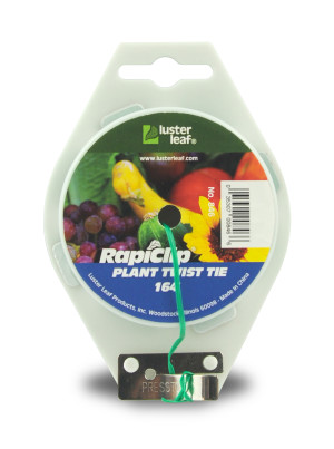 Luster Leaf Rapiclip Plant Twist Tie with Cutter Green 12ea/164 ft