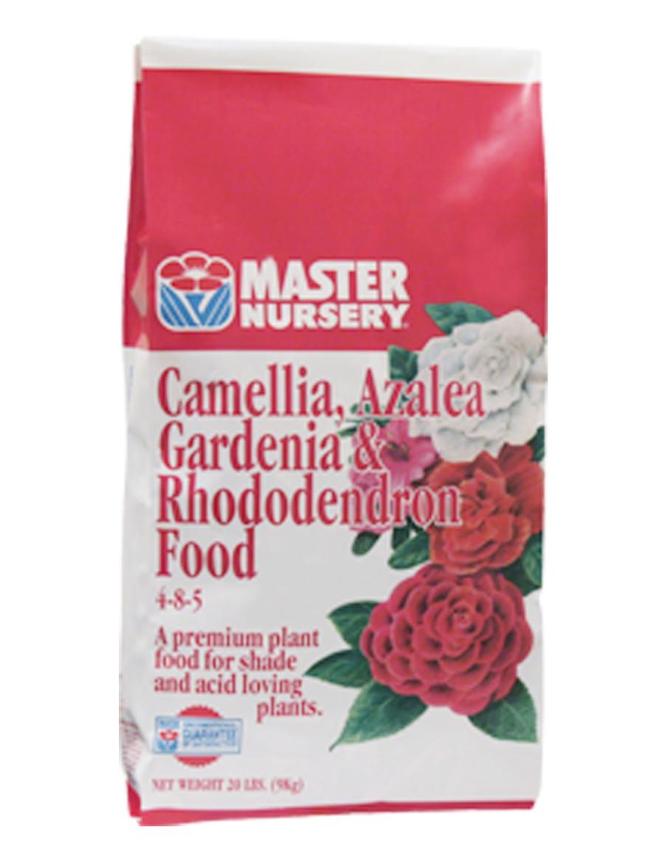 Master Nursery Camellia Azalea Gardenia & Rhododendron Food 4-8-5