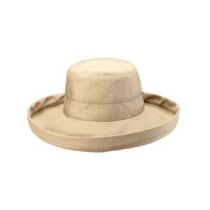 Goldcoast Sunwear Womens Retreat Hat Sand 6ea/Adjustable