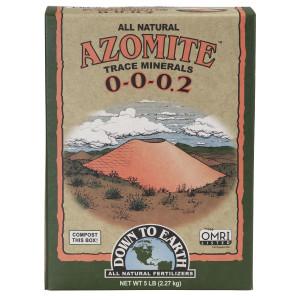 Down To Earth Azomite SR Powder Natural 0-0-0.2 SR Powder 6ea/5 lb