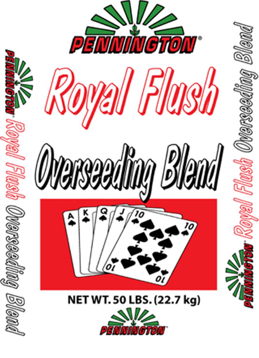Pennington Royal Flush Overseeding Blend 1ea/50 lb
