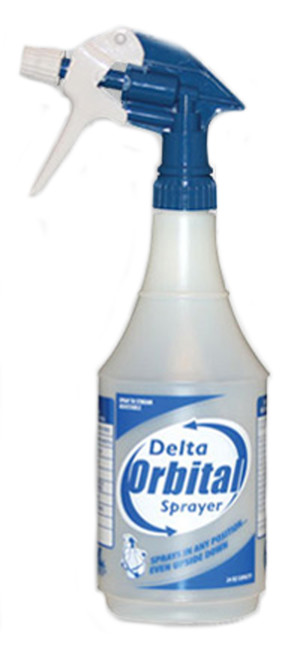 Delta Orbital Sprayer Blue, White 12ea/32 oz