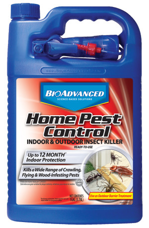 BioAdvanced Home Pest Control Insect Killer Ready To Use 4ea/1 gal