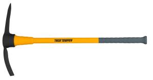 Ames True Temper Toughstrike Pick Mattock with Fiberglass Handle Yellow 4ea/2.5 lb