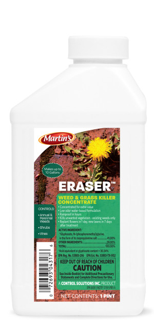 Control Solutions Eraser Weed & Grass Killer 41% Concentrate 12ea/16 oz