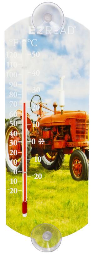 E-Z Read Red Tractor Thermometer 1ea/10 in