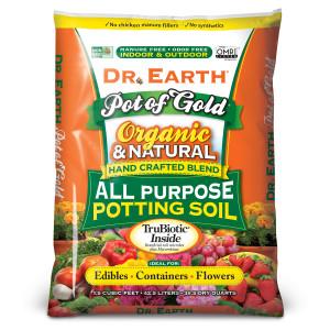 Dr. Earth Pot of Gold Premium All Purpose Potting Soil 1ea/1.5Cuft