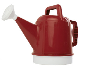 Bloem Deluxe Watering Can Burnt Red 6ea/2.5 gal