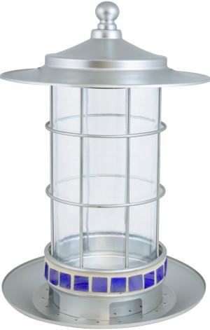 Classic Brands Stokes Select® Trellis Lantern Bird Seed Feeder Silver 4ea/2.7 lb