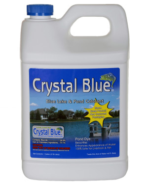 Sanco Crystal Blue Lake And Pond Colorant 4ea/1 gal