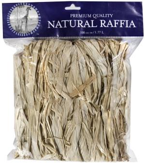 Supermoss Raffia Natural Bag Natural 10ea/4 oz
