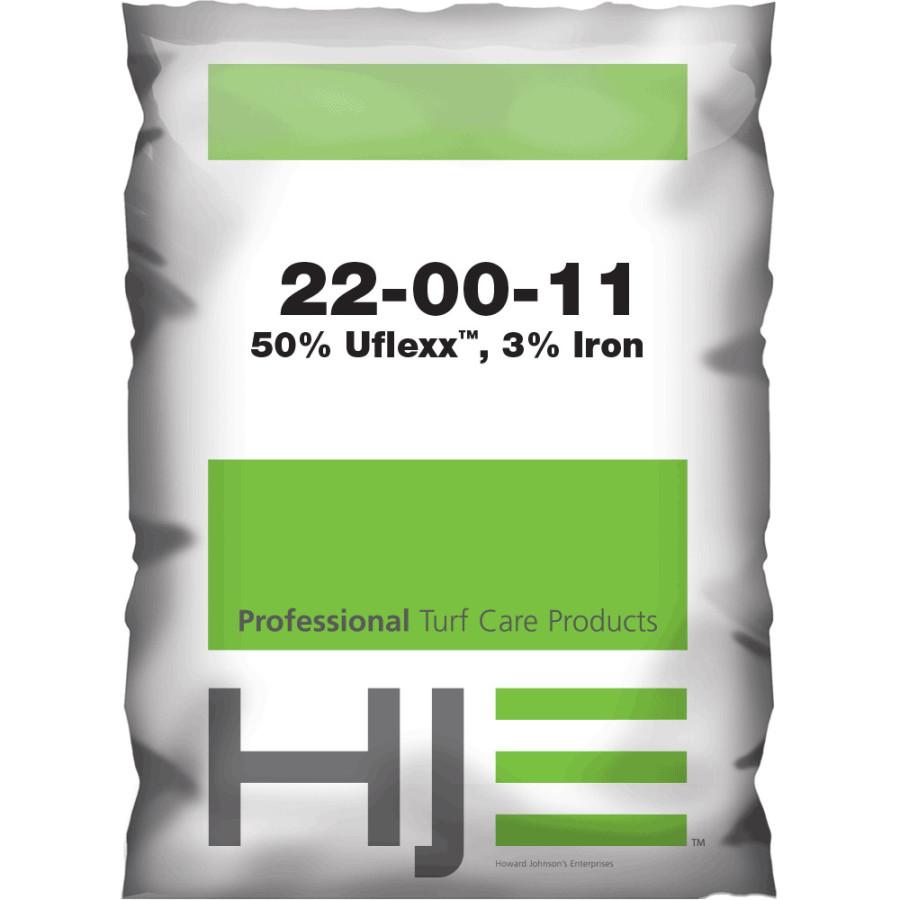 Howard Johnson 22-0-11 50% UFLEXX, .20% MALLET, 3% Iron 40ea/50 lb