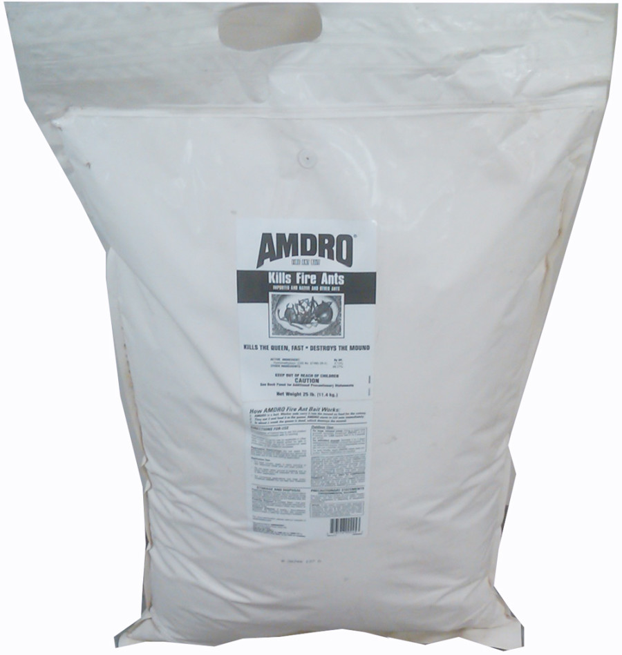 Amdro Kills Fire Ants Bait Granules 1ea/25 lb