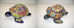 Talavera Turtle Statue Assortment