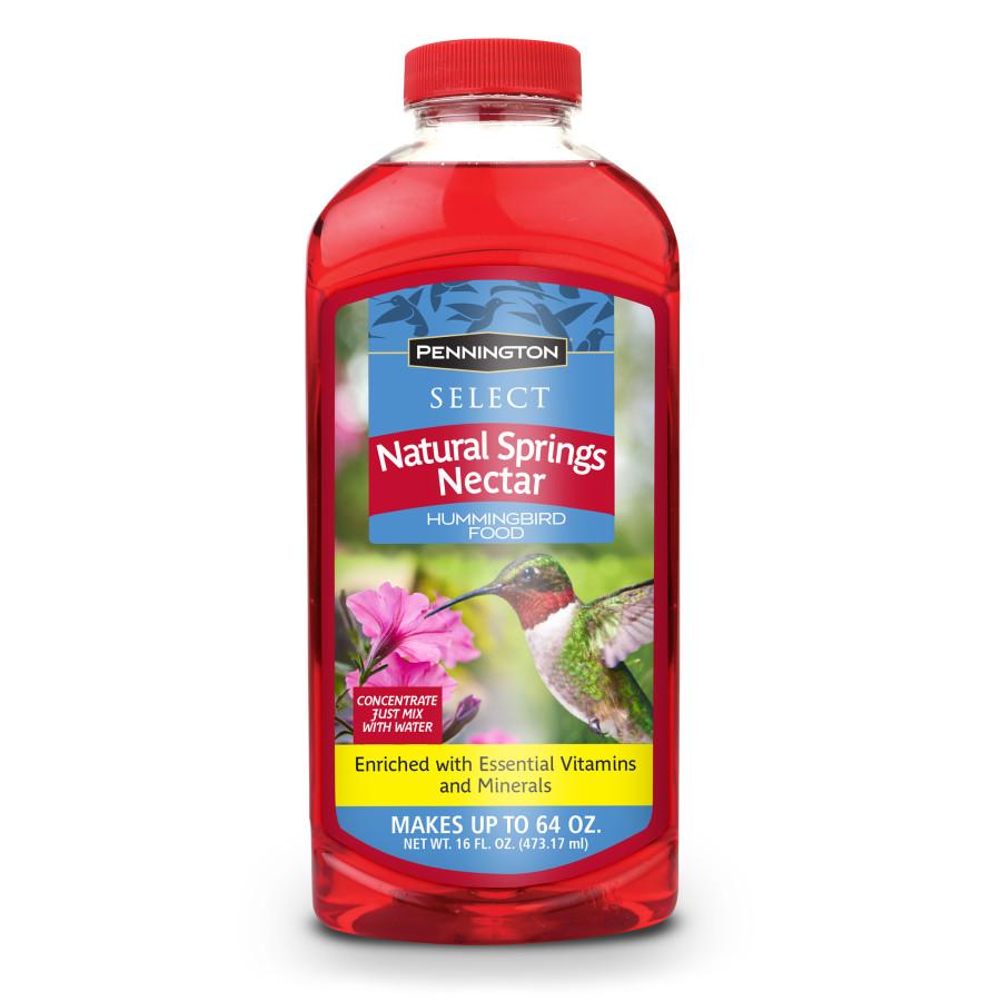 Pennington Natural Springs Nectar Hummingbird Food Concentrate 12ea/16 oz