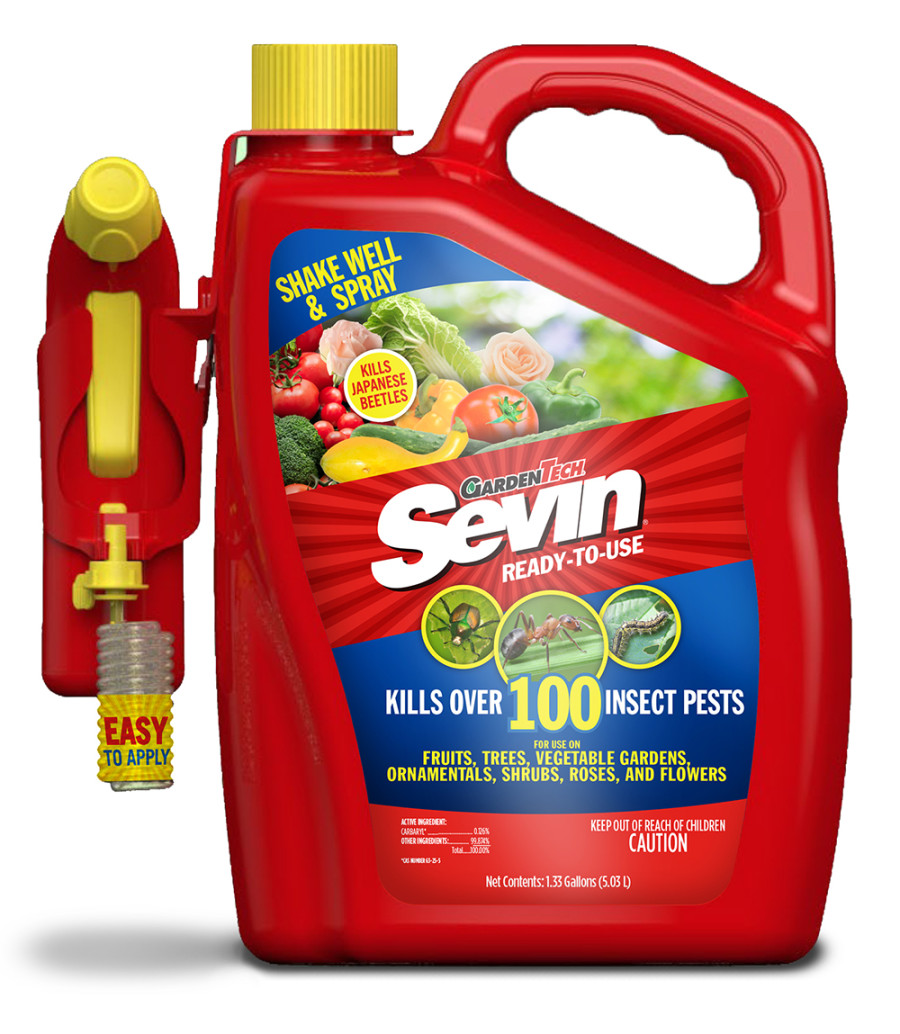 Sevin Bug Killer Ready To Use Battery Powered Sprayer 2ea/1.33 gal