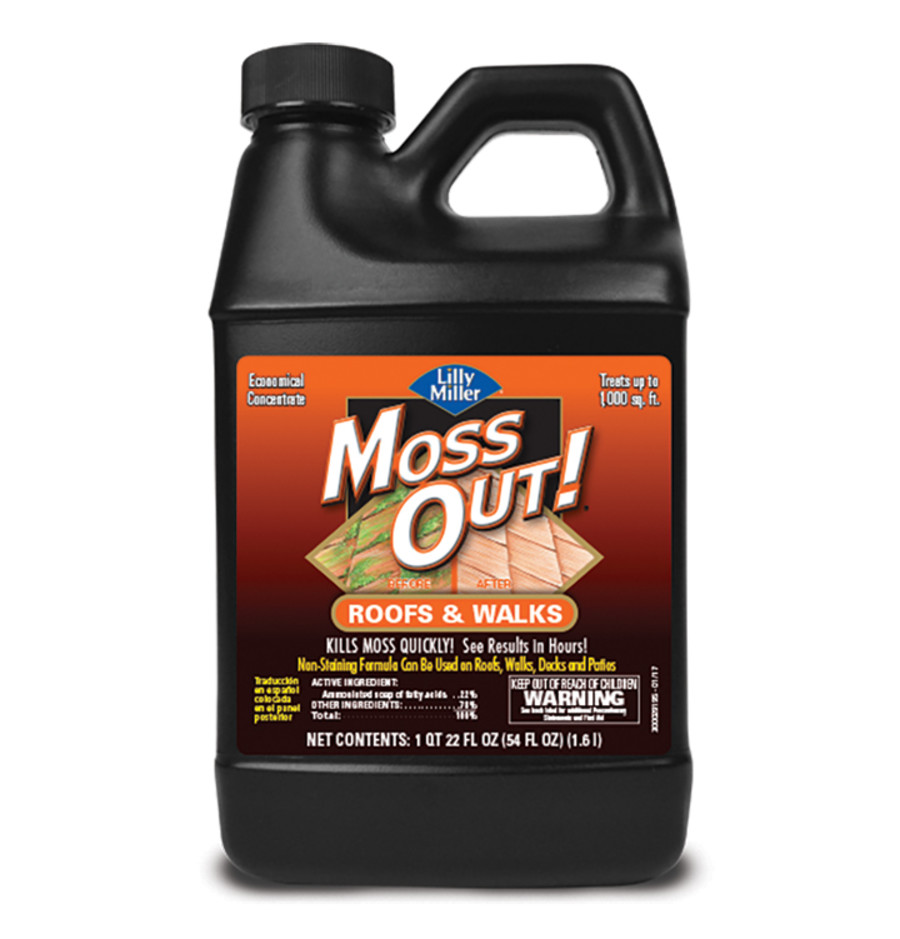 Lilly Miller Moss Out! Roofs And Walks Concentrate 6ea/54 oz