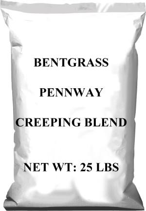 Pennington Bentgrass Pennway Creeping Blend Grass Seed 1ea/25 lb