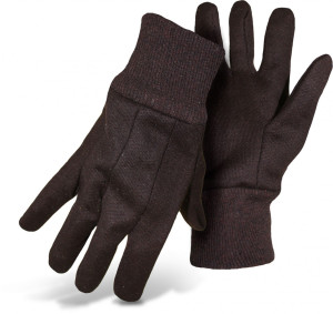 Boss Jersey Regular Weight Glove Brown 12ea/Small