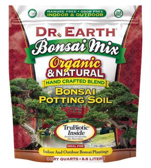 Dr. Earth Bonsai Mix Bonsai Potting Soil 4ea/8 qt