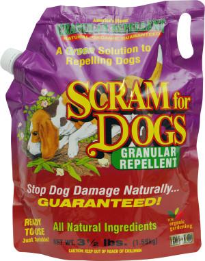 Enviro Scram For Dogs Granular Repellent Bag 6ea/3.5 lb