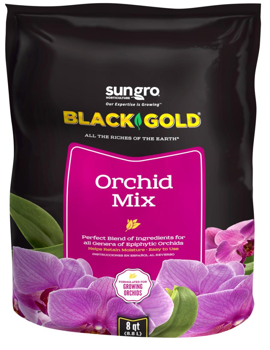 Black Gold Orchid Mix 8ea/8 qt
