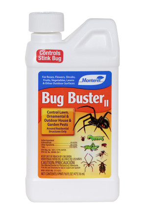 Monterey Bug Buster II Insecticide Concentrate 6ea/16 oz