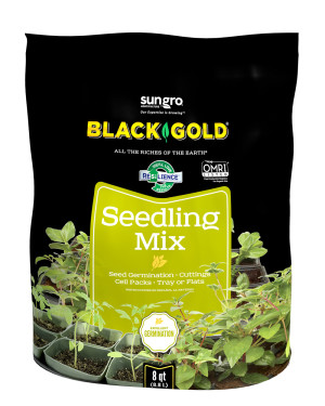 Black Gold Seedling Mix Organic 8ea/8 qt