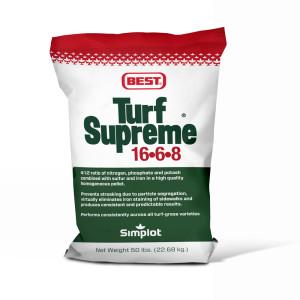 Best Turf Supreme 16-6-8 Fertilizer 1ea/50 lb