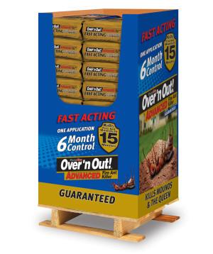 Over 'n Out Advanced Fire Ant Killer Granules Quarter Pallet 1ea/11.5 lb