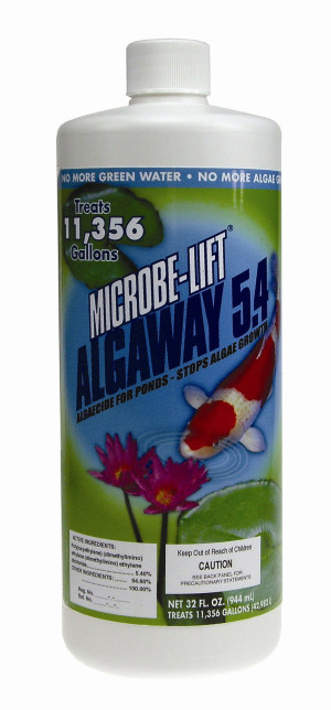 Ecological Laboratories Microbe-Lift AlgAway 5.4 Algaecide for Ponds 12ea/32 oz
